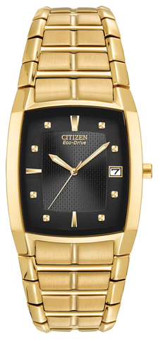 BAND & PINS COMBO: Citizen Watch Bracelet Gold Tone Stainless Steel Part # 59-S03110 With Band to Case Pins