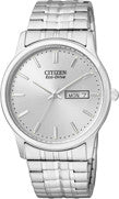 BAND & PINS COMBO: Citizen Watch Bracelet   Silver Tone  Expansion Stainless Steel Part # 59-S03700 with Band to Case Pins