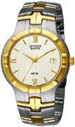 BAND & PINS COMBO: Citizen Watch Bracelet Two Tone Stainless Steel Part # 59-S05115 with Band to Case Pins