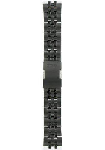 BAND & PINS COMBO: Citizen Watch Bracelet Black Ion Plated Stainless Steel  Part # 59-S03393 with Band to Case Pins