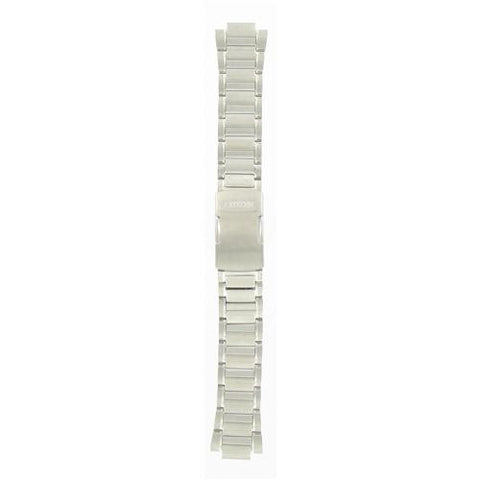 BAND & PINS COMBO: Citizen Watch Bracelet Silver Tone Stainless Steel Part # 59-S03690 with Band to Case Pins