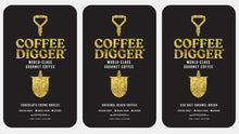 "Load image into Gallery viewer, 3 POUNDS // Coffee Digger //  Variety Pack // ""Perfect Gift"""
