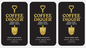 "3 POUNDS // Coffee Digger //  Variety Pack // ""Perfect Gift"""