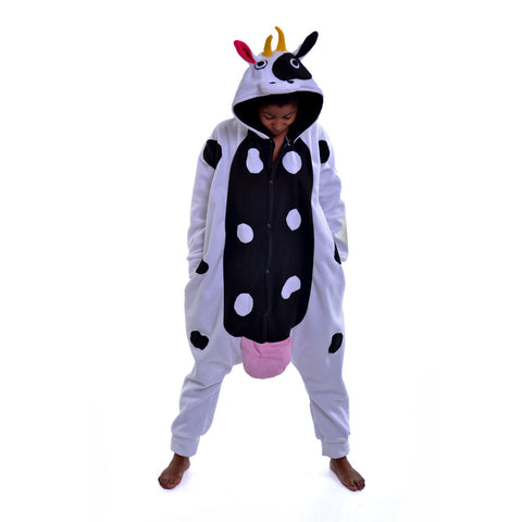 Cow Onesie (white/black)