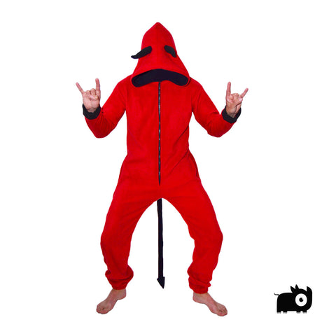 Devil Onesie (red / green / blue / purple / yellow / orange)