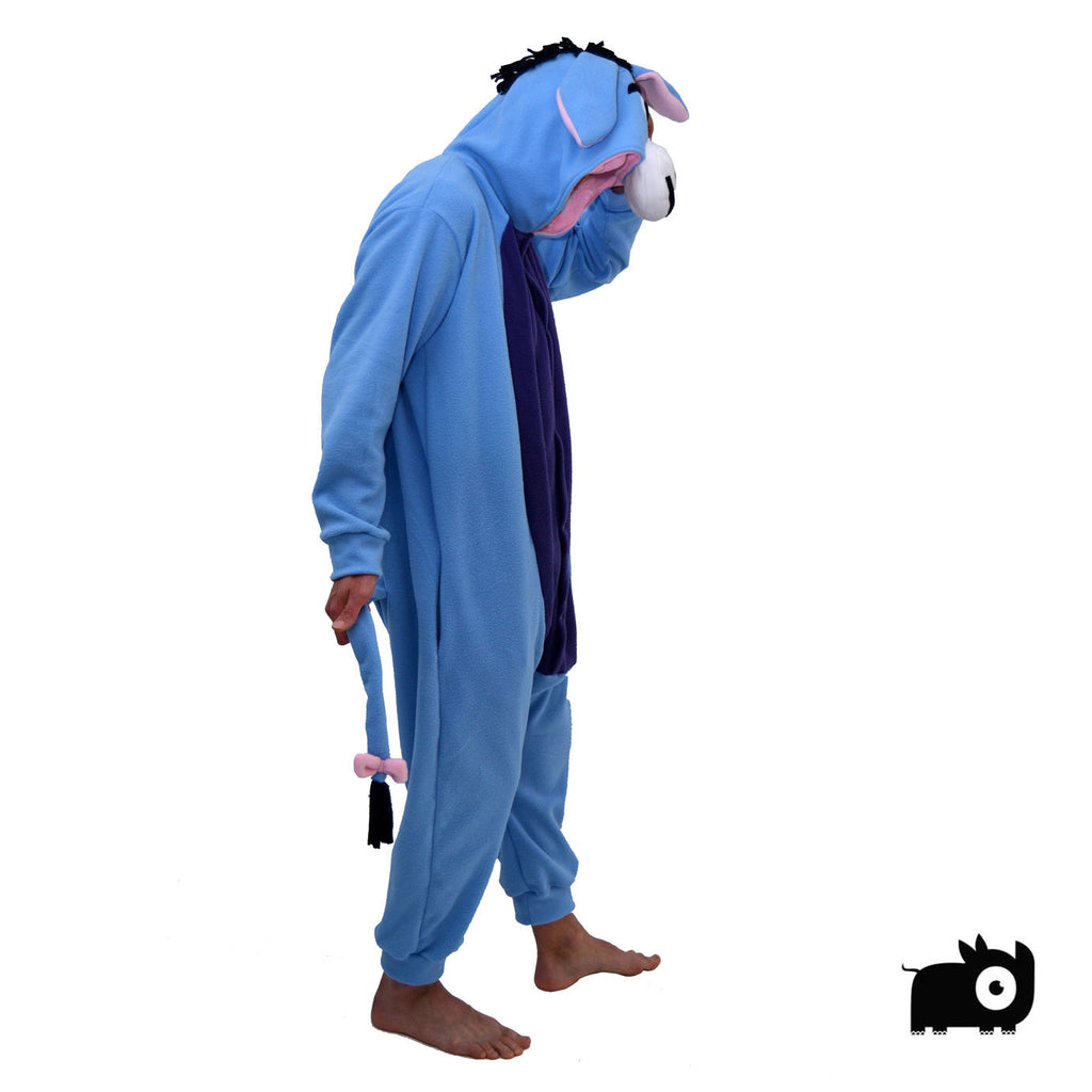 Blue Donkey Onesie (blue/purple) inspired by Eeyore