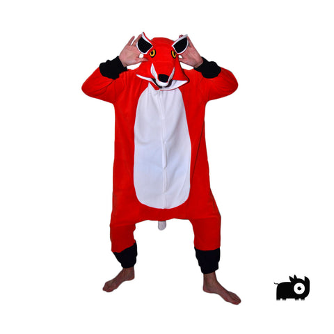 Fox Onesie (orange/white)