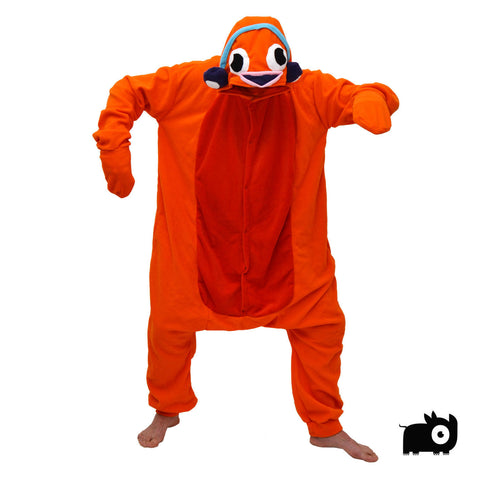 Goldfish Onesie (orange) inspired by Cape Town's Goldfish Live Band