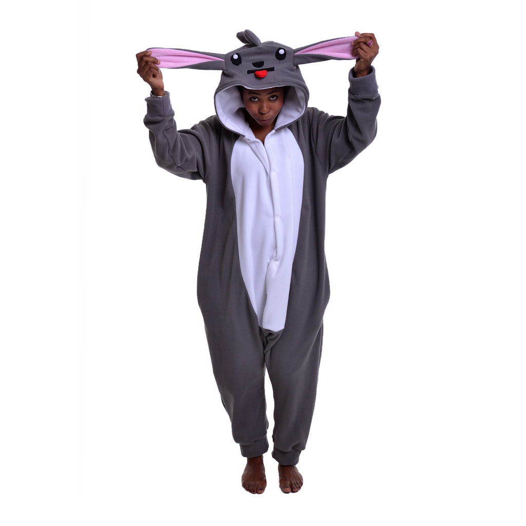 Mouse Onesie (grey/white) inspired by Minccino