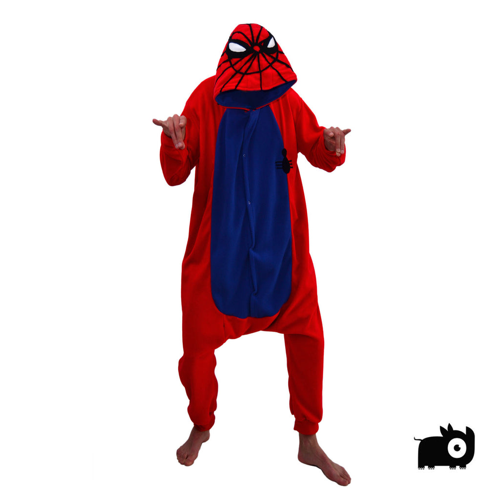 579da516e419 Spiderman Onesie (red blue) - part of the aFREAKa Onesie range
