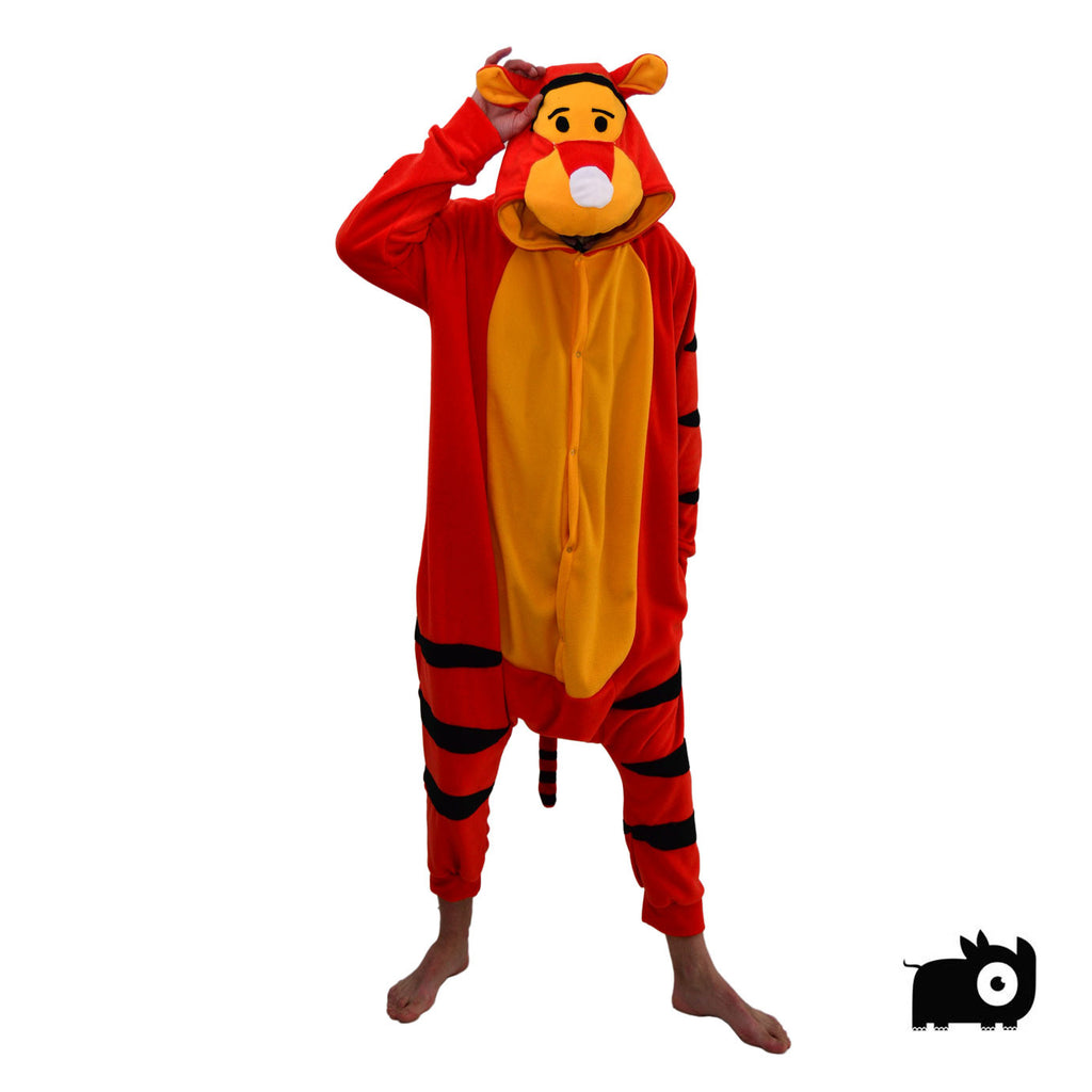 Happy Tiger Onesie (orange/yellow) inspired by Tigger