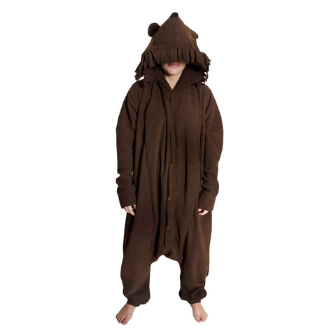 Grizzly Bear Onesie (brown)