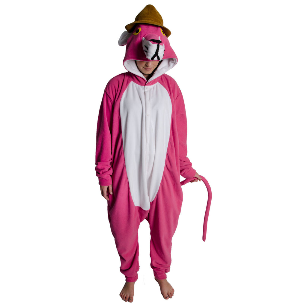 Panther Onesie (pink/white) inspired by Pink Panther