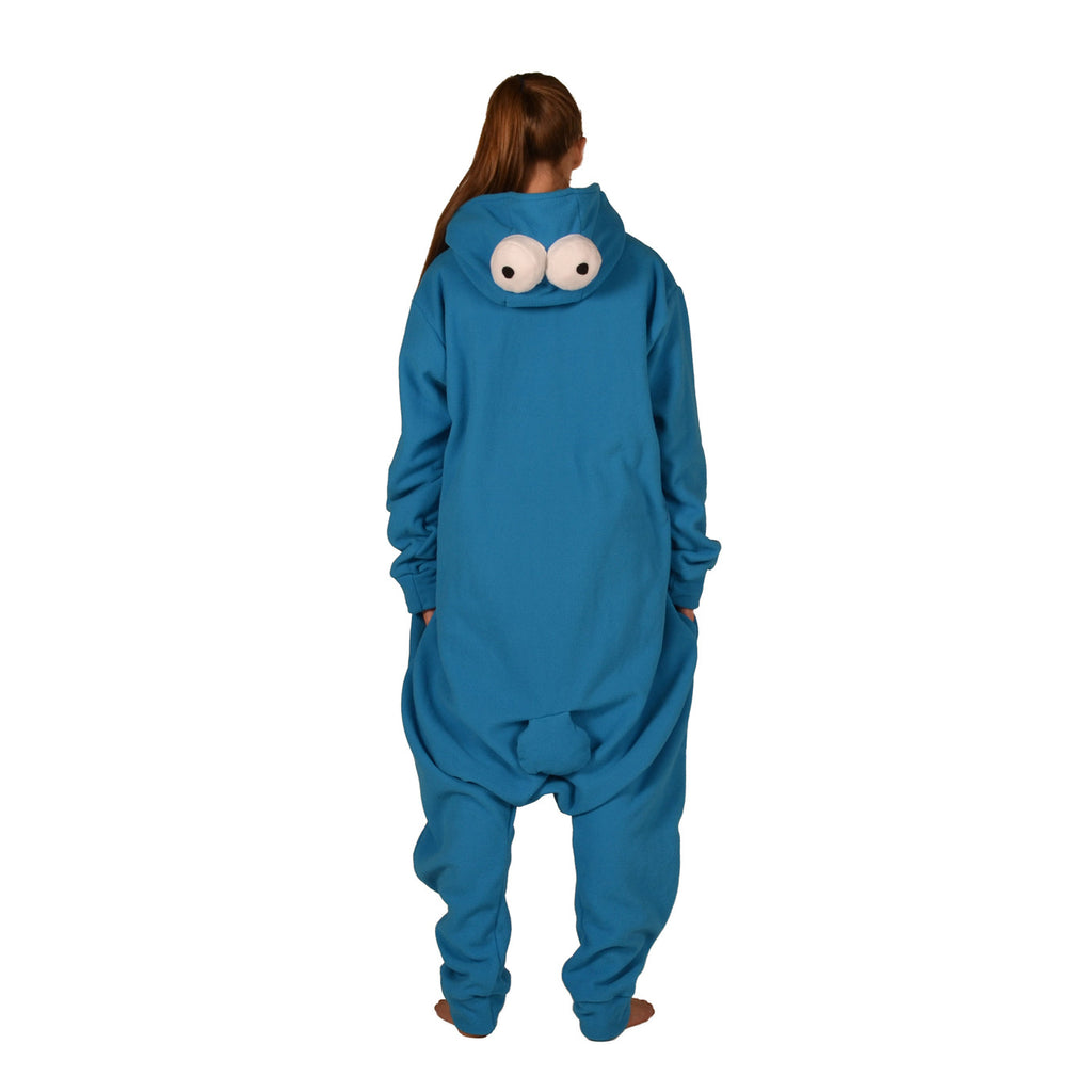Blue Monster Onesie (blue) inspired by Cookie Monster