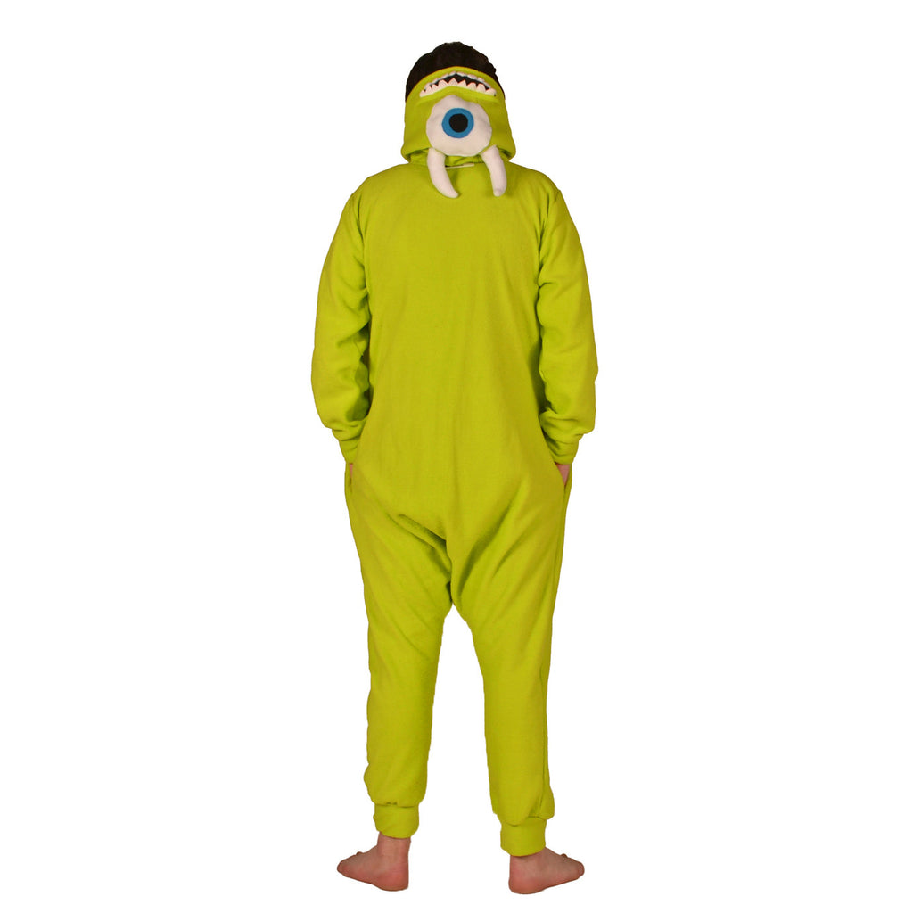 Green Monster Onesie (green) inspired by Mike Wazowski from Monsters Inc