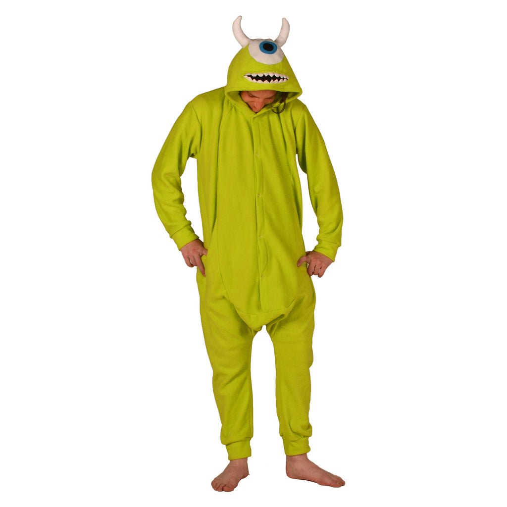 04a0bd5c91d2 Green Monster Onesie (green) inspired by Mike Wazowski from Monsters Inc