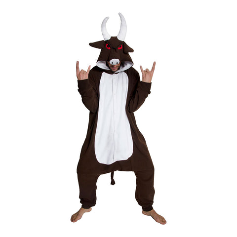 Buffalo Onesie (brown/white)