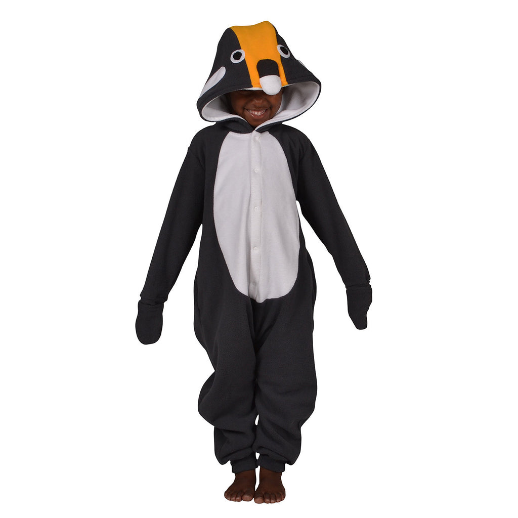 Penguin Onesie (charcoal/white): KIDS