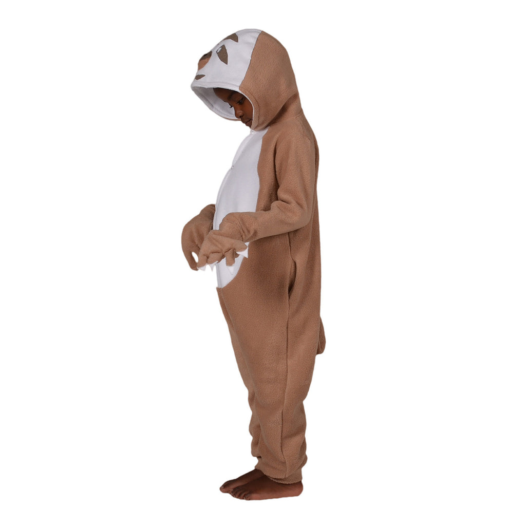 Sloth Onesie (beige/white): KIDS