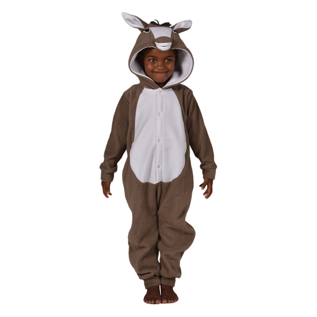 Donkey Onesie (grey/white): KIDS