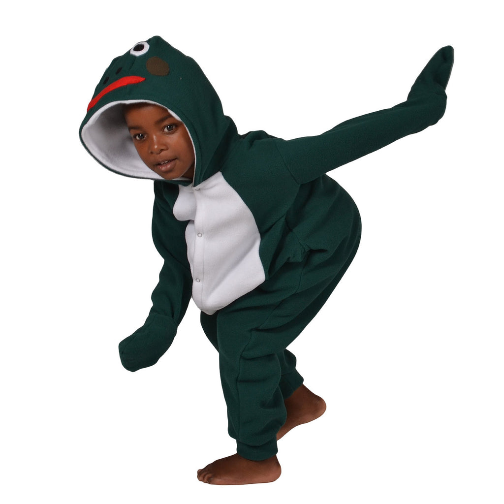 Frog Onesie (green/white): KIDS