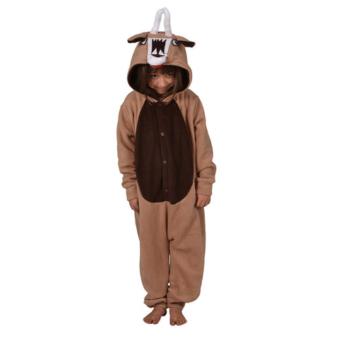 Kudu Onesie (beige/brown): KIDS