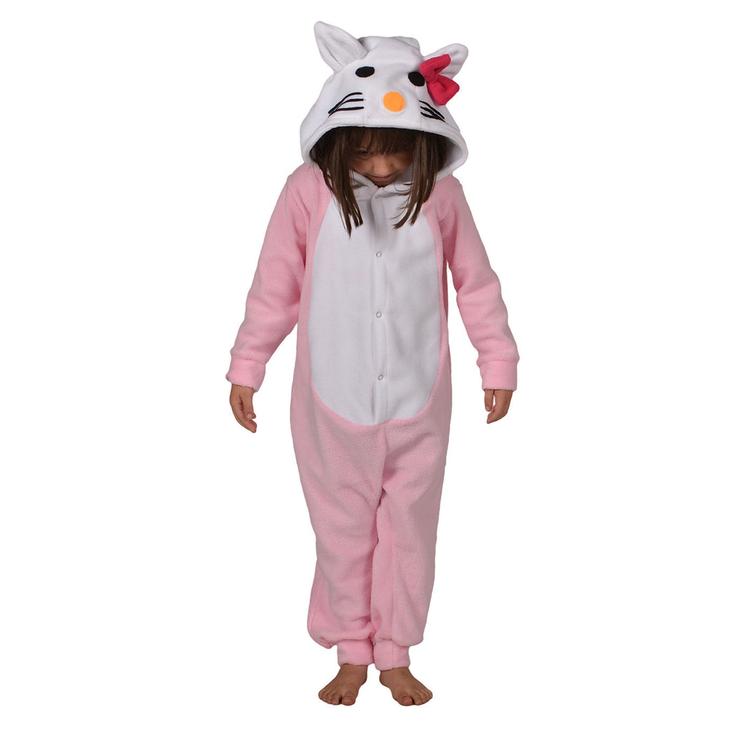 Kitty Onesie (pink/white): KIDS inspired by Hello Kitty