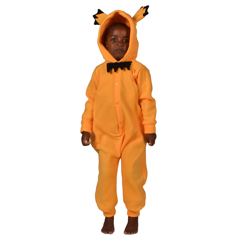 Yellow Poke em on Onesie (yellow): KIDS inspired by Pichu