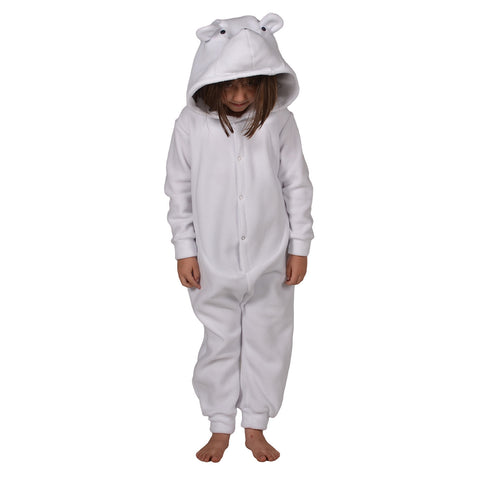 Polar Bear Onesie (white): KIDS
