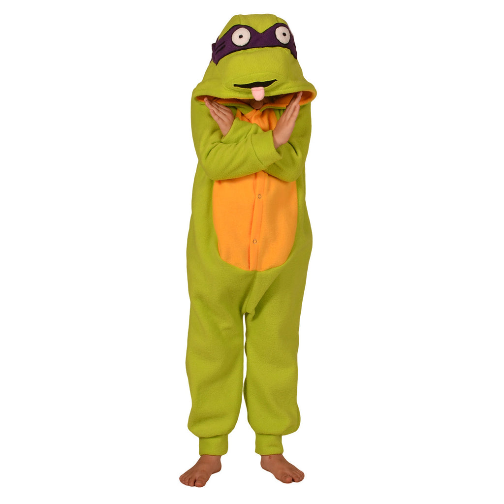 Turtle Onesie (green/yellow): KIDS inspired by Ninja Turtles