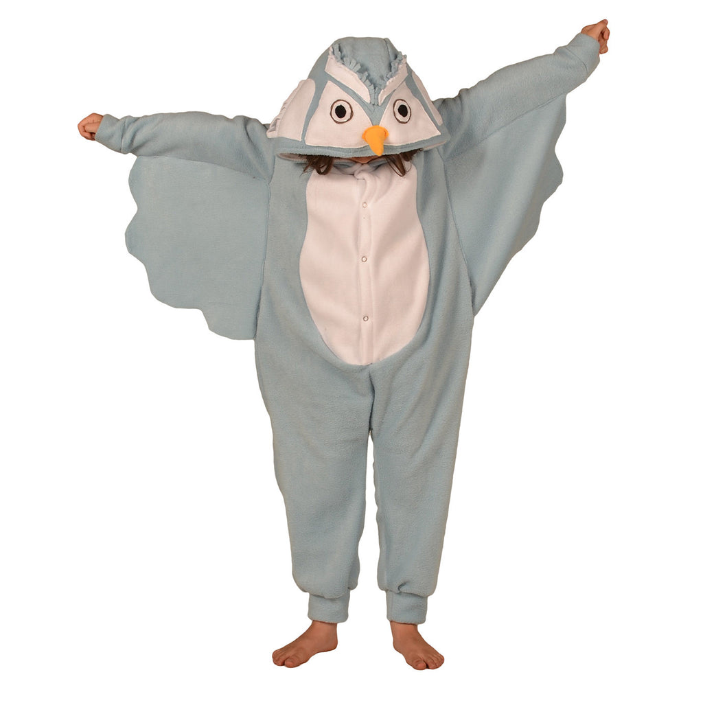 c6f203ecacc9 Blue Owl Onesie (blue white)  KIDS