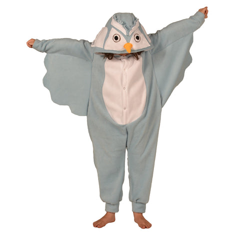 Blue Owl Onesie (blue/white): KIDS