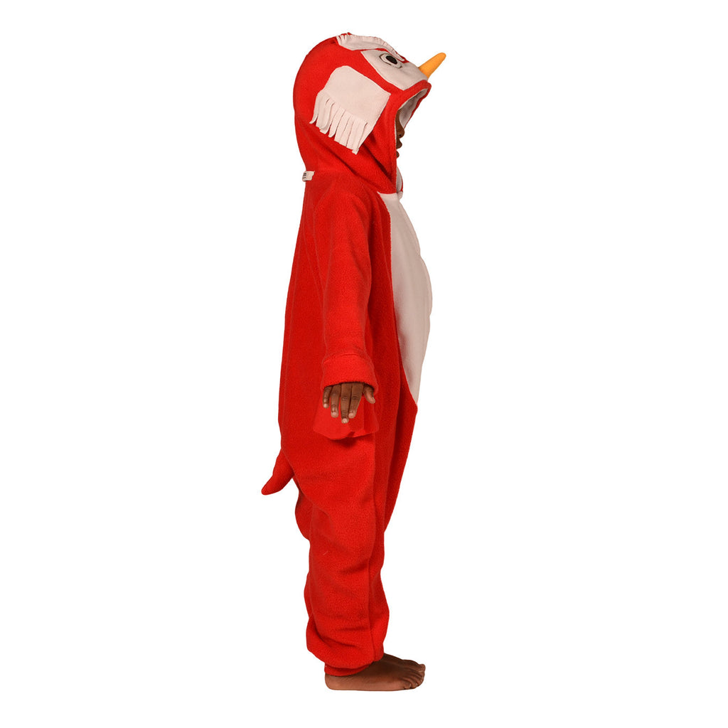 Red Owl Onesie (red/white): KIDS