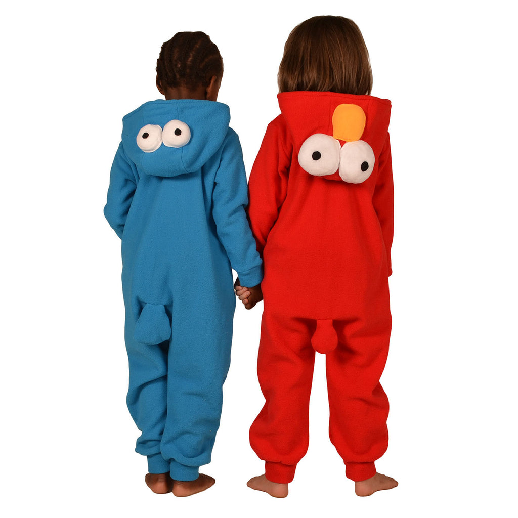 7839d5187660 Red Monster Onesie (red)  KIDS inspired by Elmo