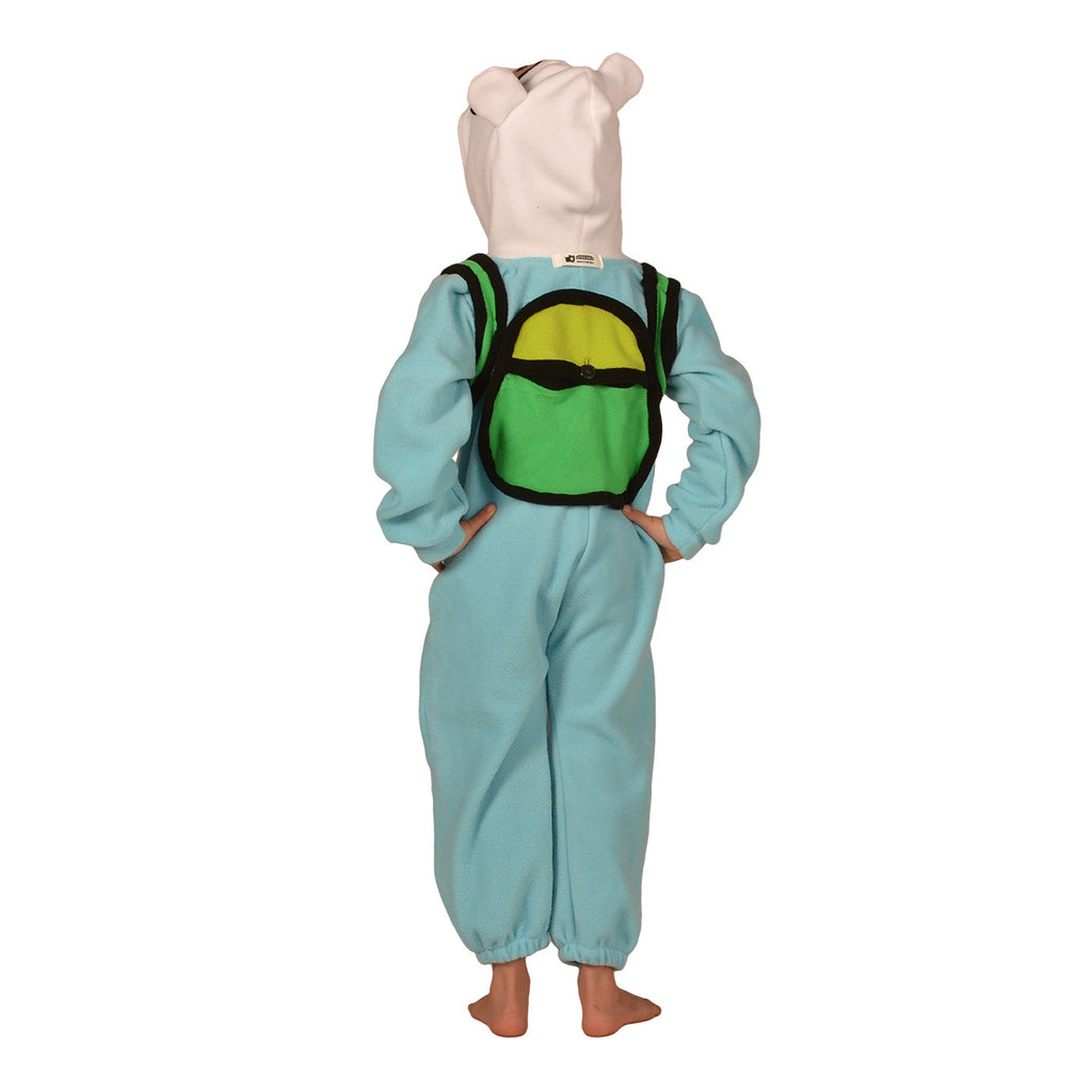 Adventure Man Onesie (torquoise/white): KIDS inspired by Finn the Human
