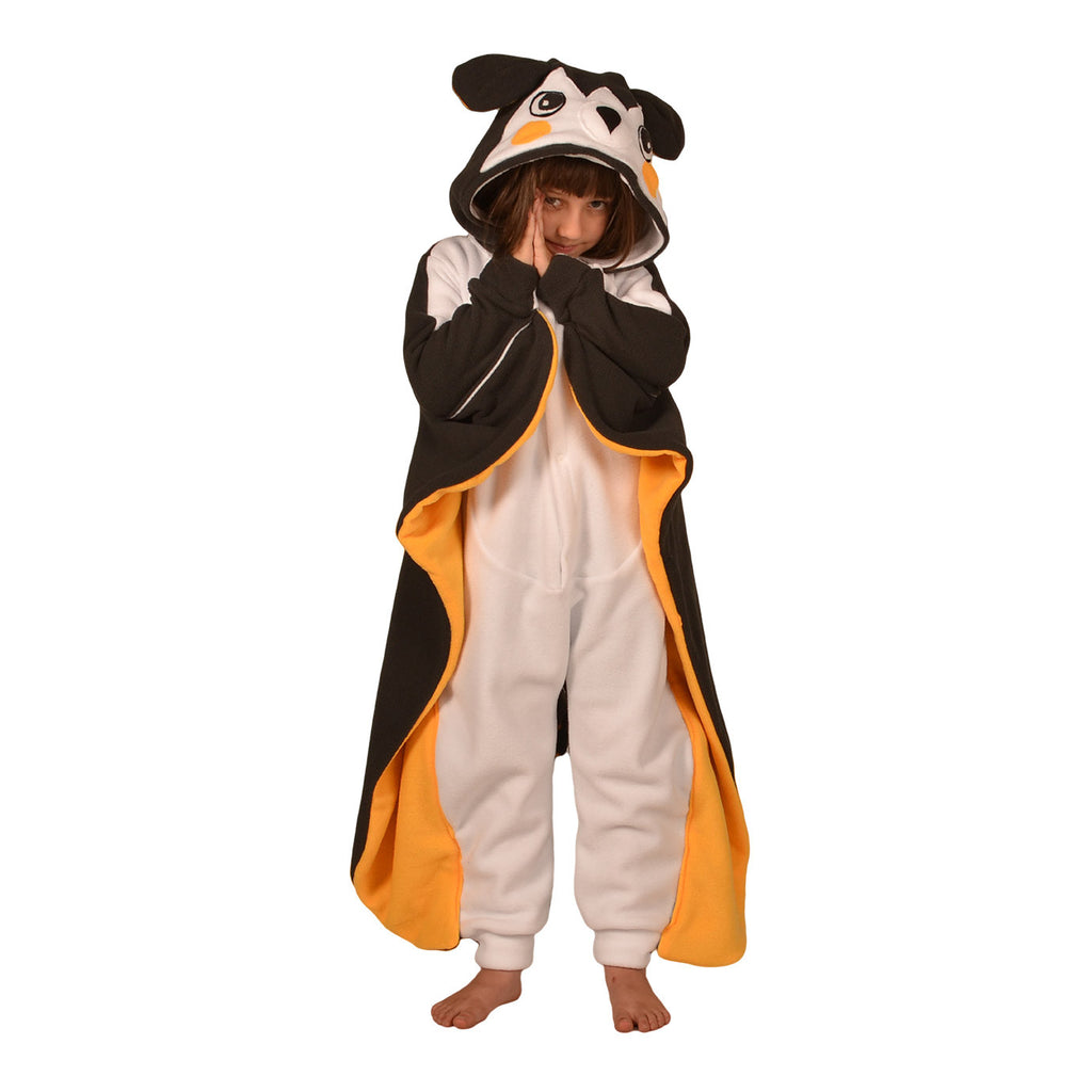 Sky Squirrel Poke em on Onesie (charcoal/yellow/white): KIDS inspired by Emolga