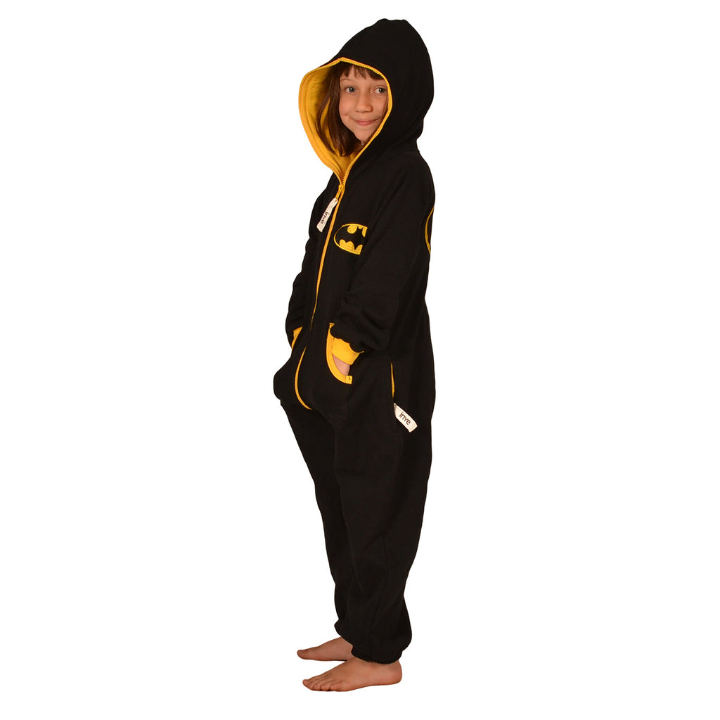 Black & Yellow Inye Onesie - inspired by Batman