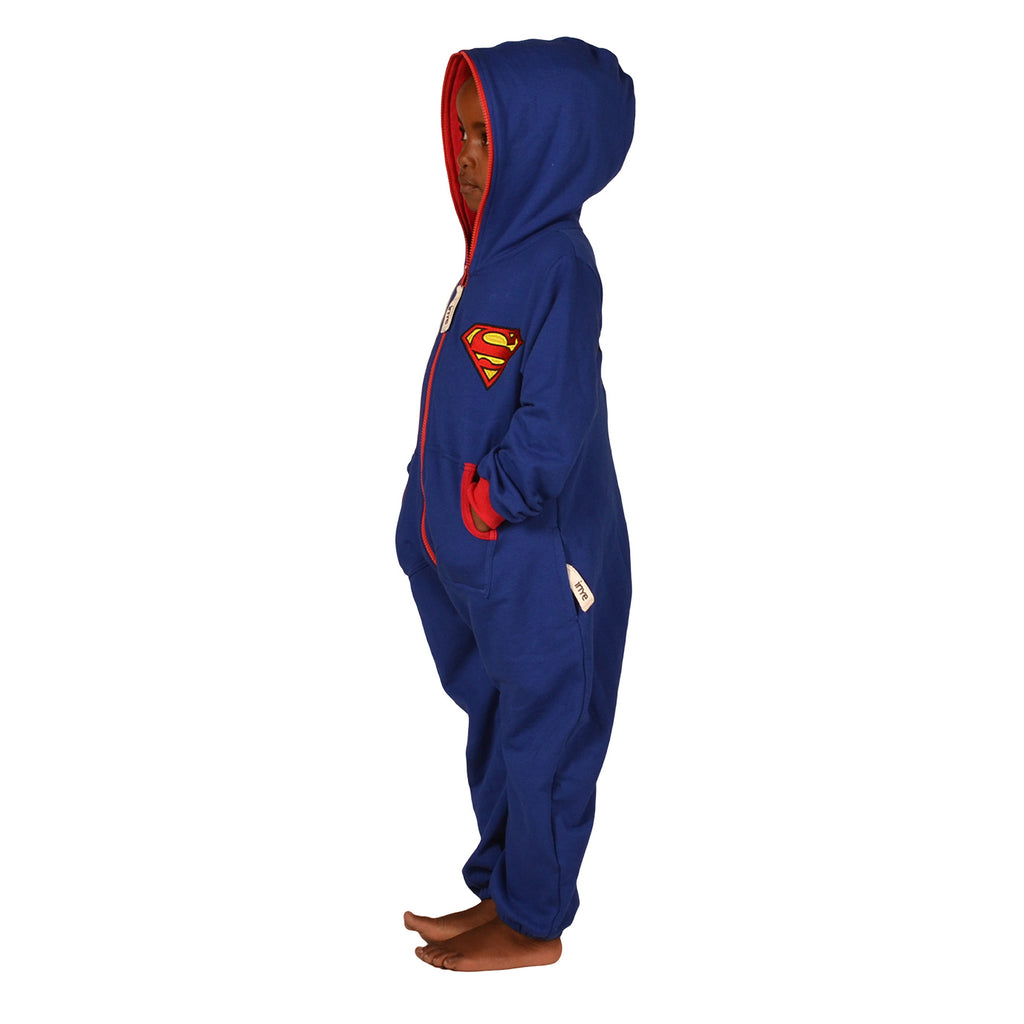 Blue & Red Inye Onesie - inspired by Superman