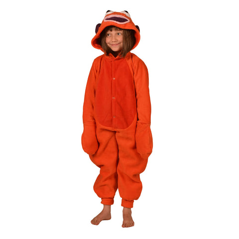 Goldfish Onesie (orange): KIDS