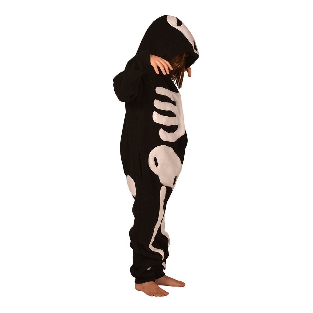 Skeleton Onesie (black/white): KIDS