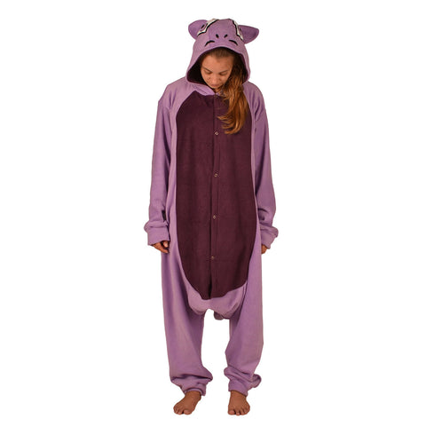 Lilac Cat Pok em on Onesie (lilac/purple) inspired by Mewtwo