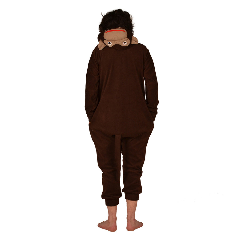 Chimpanse Onesie (brown/beige)