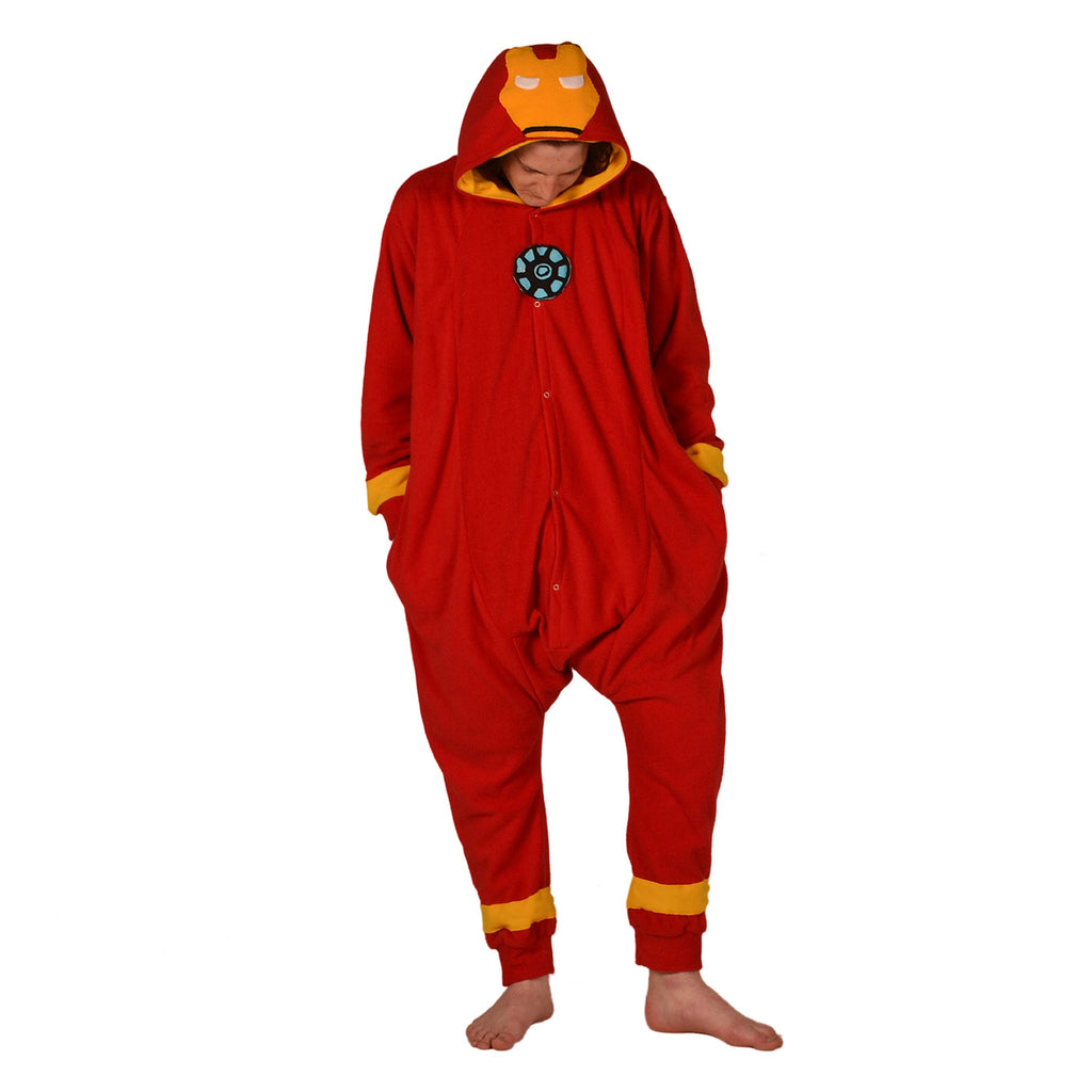 Rocket Man Onesie (red/yellow) inspired by Ironman