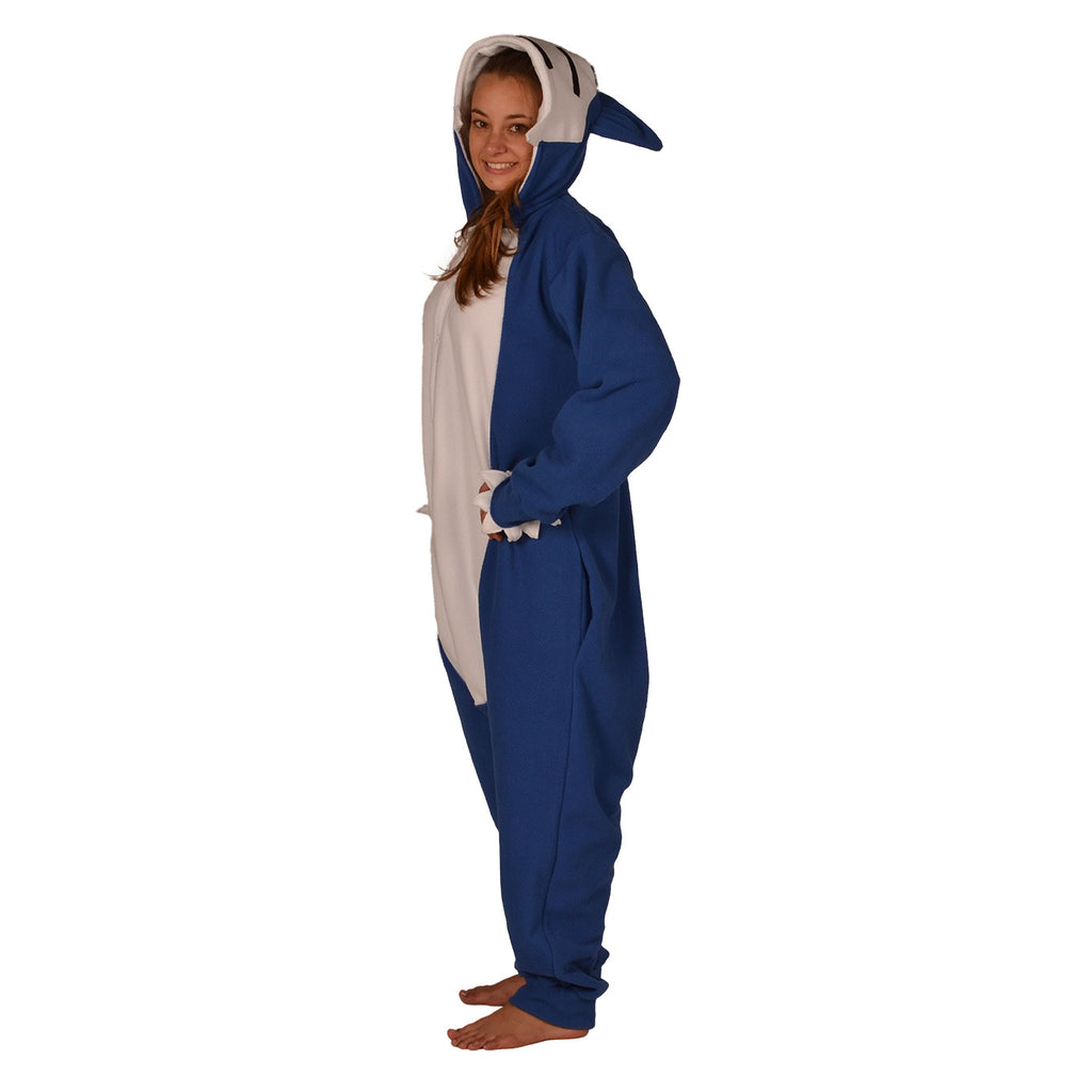 Blue Poke em on Onesie (blue/white) inspired by Snorlax