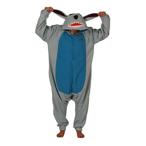 Alien Dog Onesie (light blue/blue) inspired by Stitch