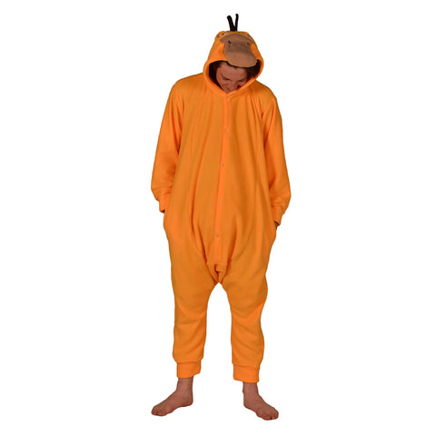 Duck Poke Em On Onesie (yellow) inspired by Psyduck