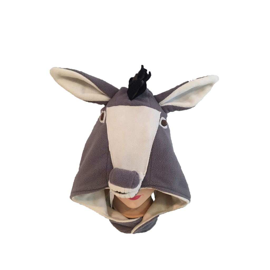 Donkey (grey/white)