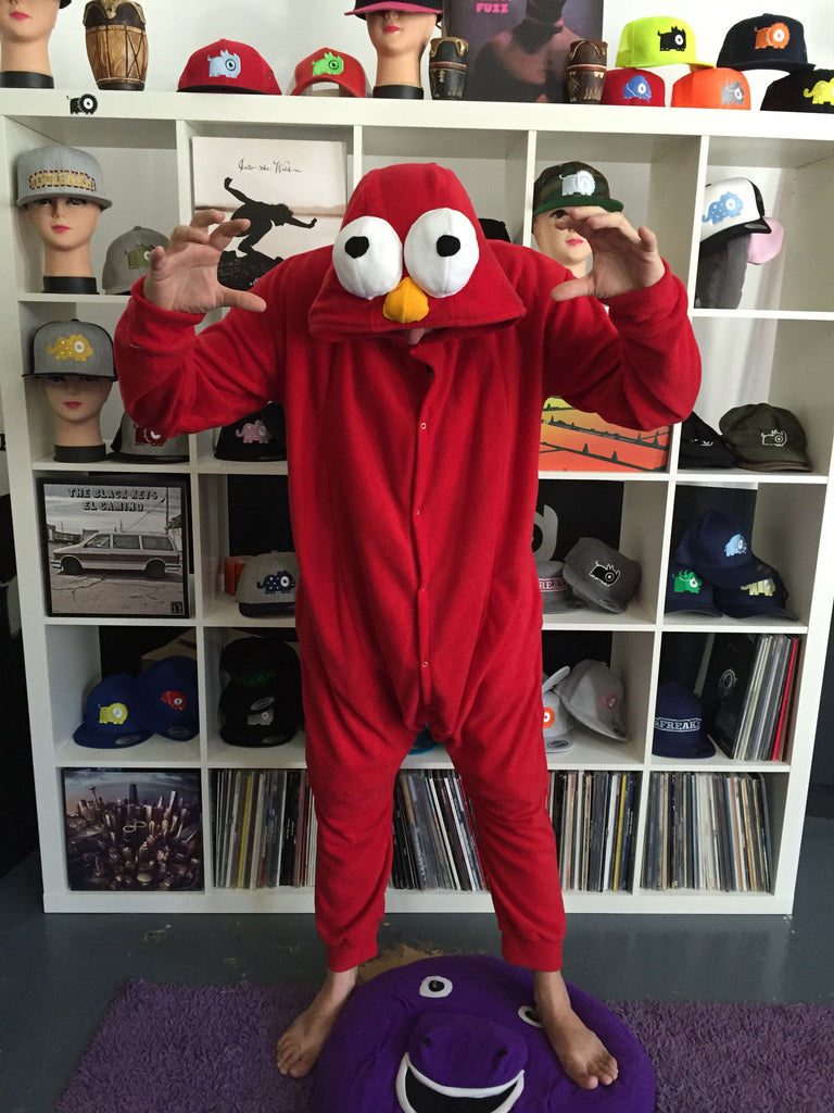 Red Monster Onesie (red) inspired by Elmo
