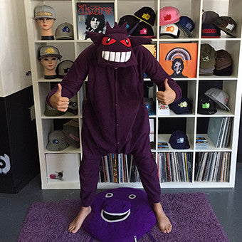 Purple Monster Poke em on Onesie (purple) inspired by Gengar
