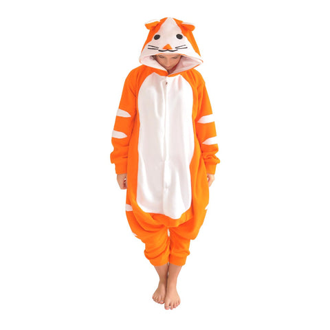 Ginger Cat Onesie (orange/white)